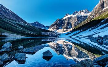 Озеро Утешения / Национальный парк Банфф, Канада