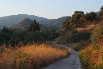 Перед закатом / Турция, окрестности Кушадас, закрытие сезона