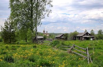 В заброшенной деревне тишина / В заброшенной деревне тишина