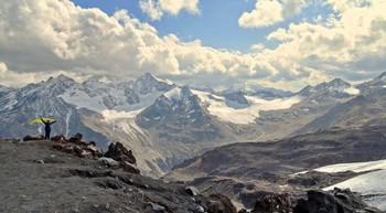 А мне летать охота / На Эльбрусе на высоте 3780 метров. Погода благоприятствовала подъему.