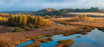 Осень в долине / Псковская область. Изборско-Мальская долина.