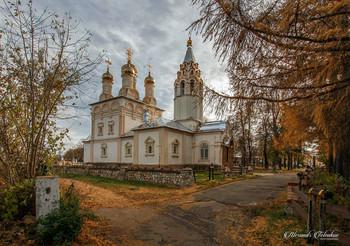Церковь Спаса Преображения на Яру в Рязани. / ***