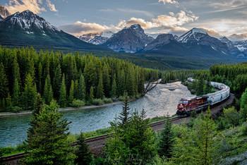 Choo-Choo Train! / Через Скалистые Горы. Национальный парк Джаспер, Канада
