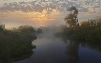 Утренний,туманный Айдар / утро,туман,рассвет,река Айдар
