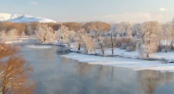 Зимний вечер / Протока