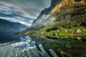 Норвегия. / Согнефьорд.