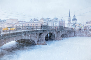 Снегопад. / ***