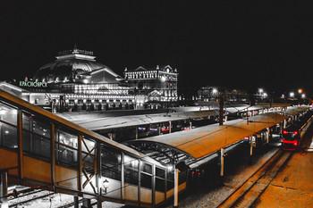 Жд вокзал в Красноярске / г.Красноярск