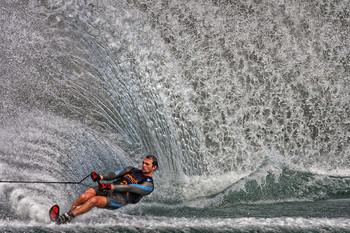 / Wasserski - Slalom