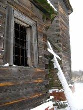 старая церквушка / музей в Строчицах деревянная архитектура
