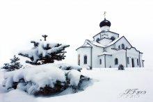 Желаю снежной зимы! / Снято в конце ноября, когда все вокруг было по-зимнему красиво.