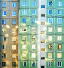 ОКНА / Пейзаж из окна.