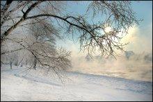 - 30 градусов / р.Западная Двина смотреть на сером