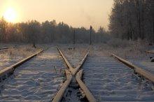extension railway / Те самые пятнадцать минут рождественского солнца.