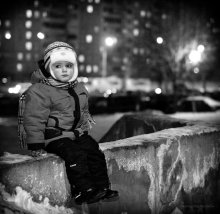 Без названия / одним из поздних зимних вечеров...