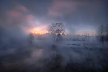 Холодный рассвет на Пехорке / Красково
