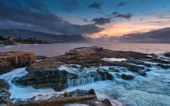 Бакланья скала / Побережье Атлантического океана, Херманус, Южная Африка