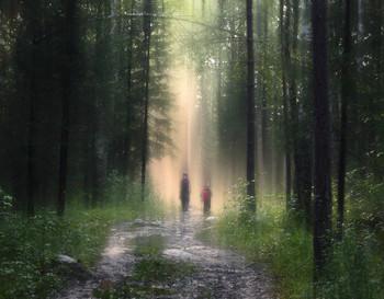 Двое в лесу / Двое в лесу
