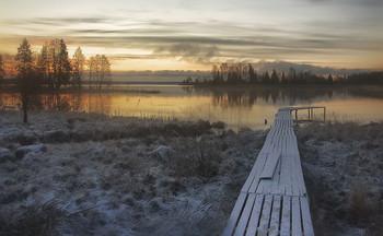 ..рассвет апреля.. / ....зима не хочет уходить...