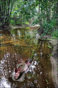 На речке ИК / Старый Просвет. Его окрестности - частые посещения фотографов.