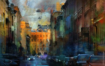 "закат. вечера. Санкт - Петербург. ""ТРЕЗИНИ ТУР"" / music: Simon and Garfunkel - Bleecker's Street https://www.youtube.com/watch?v=UgNx-fPHNYM"