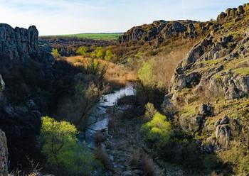 Утро в каньоне / Актовский каньон