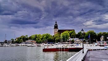 Наантали. / Гостевые пристани Наантали.Финляндия.
