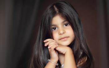 Одна маленькая девочка...) /