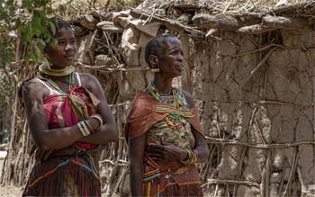 Женщины племени Датога / Танзания