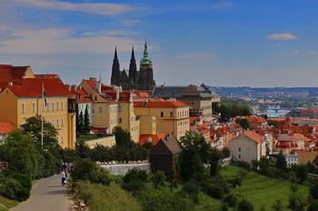 Верхний град.Прага / Чехия.