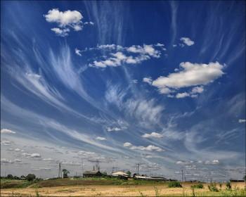"""""""Живыай"""" простор / Небо, ветер, облака..."""