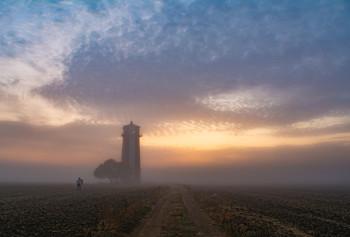 Рассвет у маяка / Хаабловский задний маяк
