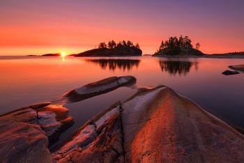 Розовое пробуждение.... / Следующая поездка: 7-15 ноября Кольский п-ов, Терский берег. Есть одно место. Обращайтесь