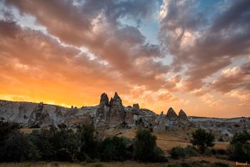 Закат над Каппадокией / Каппадокия