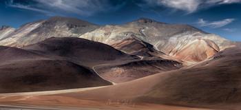 Горы Альтиплано / Высокогорное плато Альтиплано, Боливия