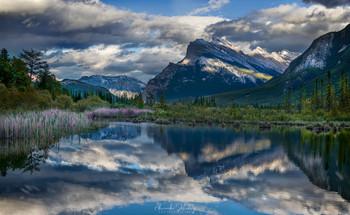 Vermillion / На озере Вермиллион, Национальный парк Банфф, Канада
