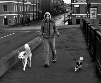 """Прогулка.... / Город и его жители... (ретроспектива)  """"На улице Гороховой..."""""""