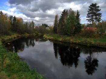Осеннее воспоминание... / Берега реки забытой...