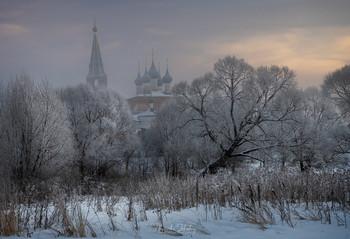 Морозное утро / Дунилово, Ивановская обл.