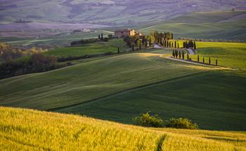В конце апреля / Тоскана
