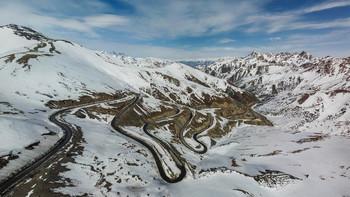 Талдык / Перевал Талдык через Алайский хребет, 3615 метров над уровнем моря