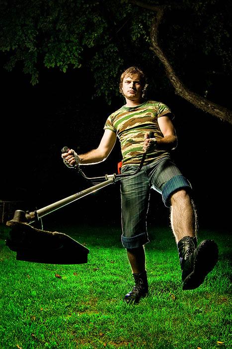 картинки про газонокосильщика бытового