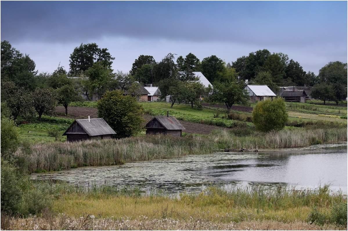 фото деревня на берегу озера один основных военно-патриотических