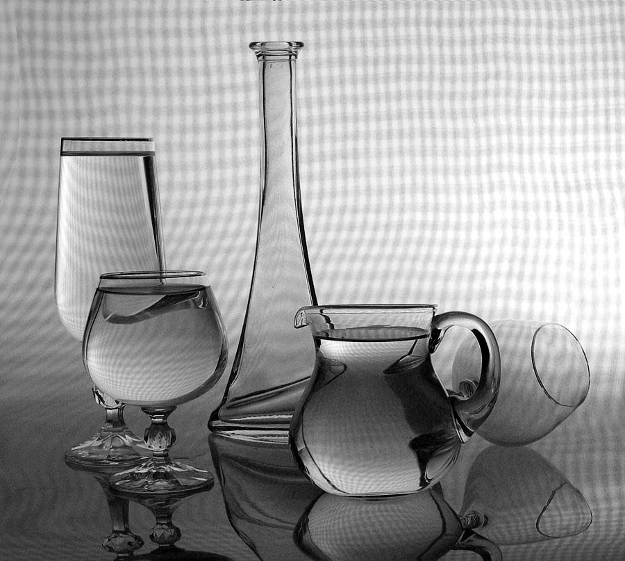 фотосъемка стеклянных предметов основы резерву