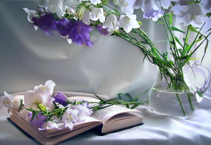 Христианские открытки с цветами