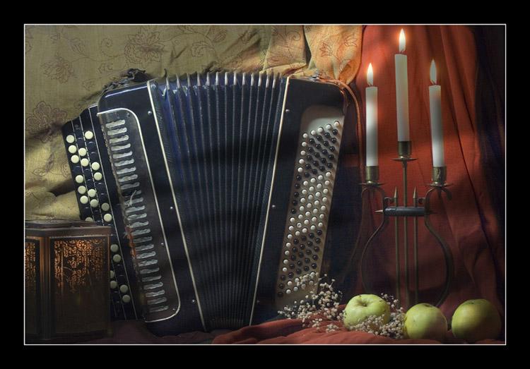 Открытки с аккордеоном ко дню рождения
