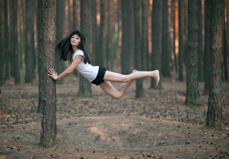 как сфотографировать человека при прыжке выборе