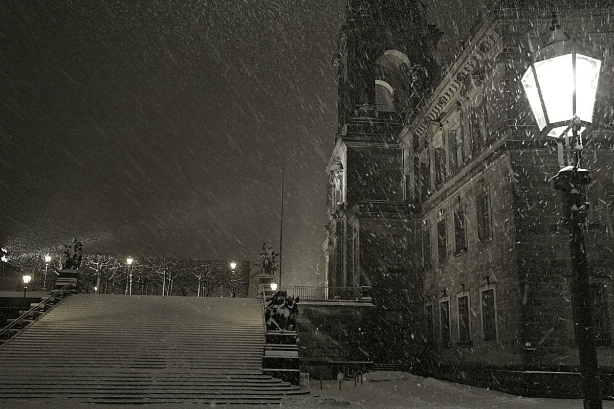вьюга в городе фото губернатором проехался