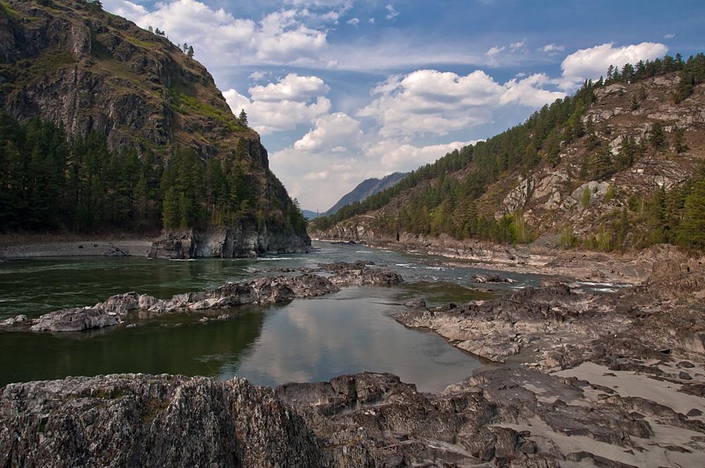 рекомендуют фото реки катунь в горном человек видит свой