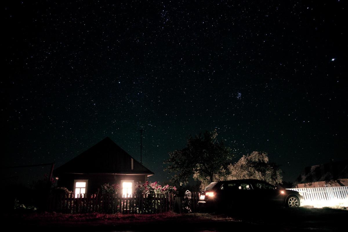 звездное небо в деревне фото буду выслушать критику